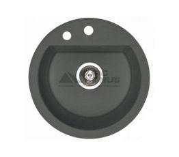 ALVEUS Мойка врезная для кухни Cubo 10-A16 M без крыла antrazit-metalic (1054636)