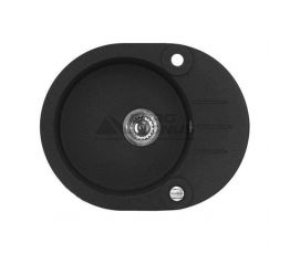 ALVEUS Мойка врезная для кухни R&R Roll 40-G91 P-U оборотная carbon (1090974)