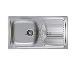ALVEUS Мойка врезная для кухни Basic 150 оборотная декор (1037868 LEI)