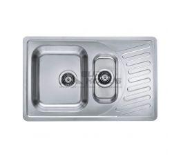 ALVEUS Мойка врезная для кухни Elegant 110 оборотная декор (1009389 LEI)