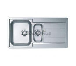 ALVEUS Мойка врезная для кухни Line 10 оборотная полированная (1064281 SAT)