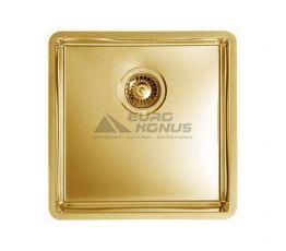 ALVEUS Мойка врезная для кухни MC Quadrix 30 без крыла матовая золото (1078578/1103319 AU)