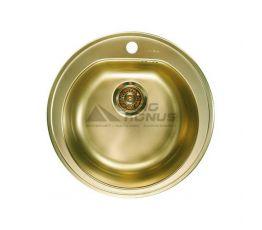 ALVEUS Мойка врезная для кухни MC Form 30 без крыла матовая bronze (1103818)