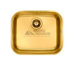 ALVEUS Мойка под столешницу для кухни MC Variant 10 без крыла матовая золото (1070628 AU)