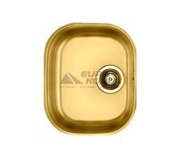ALVEUS Мойка под столешницу для кухни MC Variant 20 без крыла матовая золото (1070630 AU)