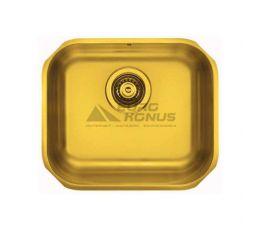 ALVEUS Мойка под столешницу для кухни MC Variant 40 без крыла матовая gold (1070643 AU)