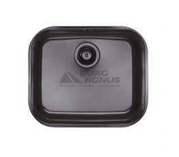 ALVEUS Мойка под столешницу для кухни MC Variant 10 без крыла матовая антрацит (1078570 BL)