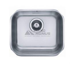 ALVEUS Мойка под столешницу для кухни Variant 40 без крыла полированная (1009392)