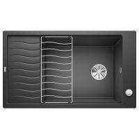 BLANCO Мойка врезная для кухни ELON XL 8 S оборотная антрацит (524860)