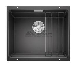 BLANCO Мойка под столешницу для кухни ETAGON 500-U без крыла антрацит (522227)