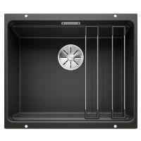 BLANCO Мойка под столешницу для кухни ETAGON 500-U без крыла черный (525887)