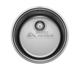 BLANCO Мойка врезная для кухни RONDOSOL-IF без крыла полированная (514647)