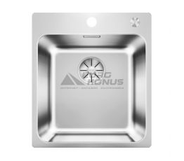 BLANCO Мойка врезная для кухни SOLIS 400-IF/A без крыла полированная (526119)