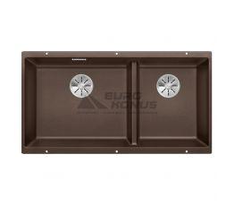 BLANCO Мойка под столешницу для кухни SUBLINE 480/320-U без крыла кофе (523593)