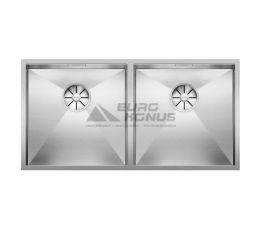 BLANCO Мойка под столешницу для кухни ZEROX 400/400-U без крыла полированная (521620)