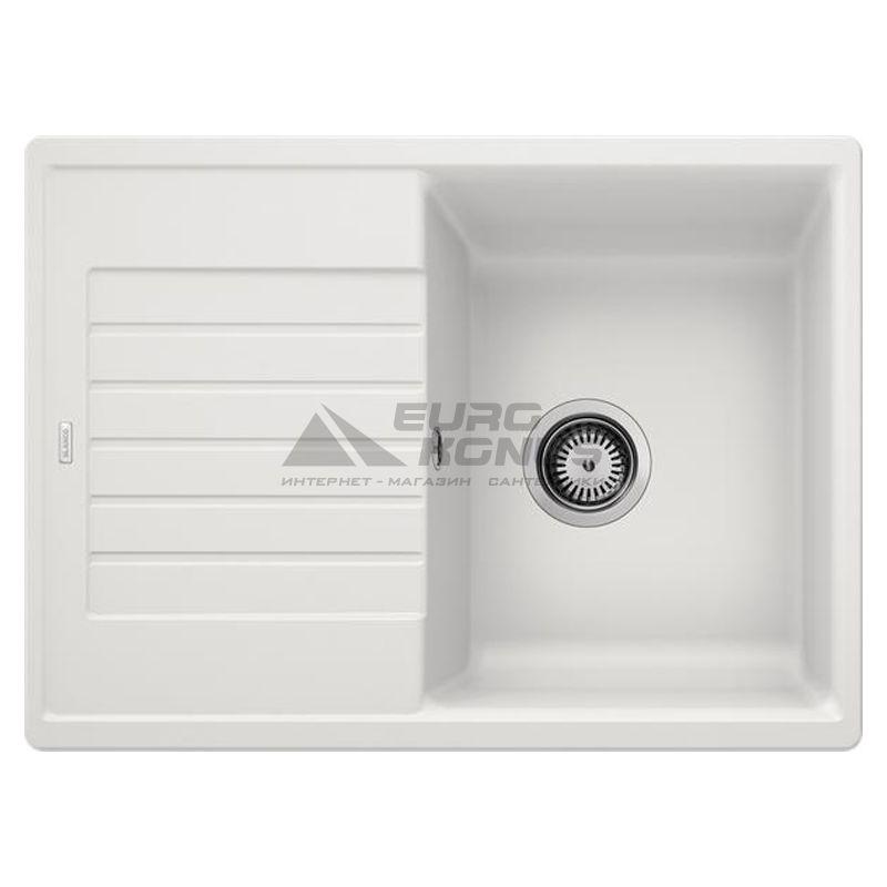 BLANCO Мойка врезная для кухни ZIA 45 S Compact оборотная белый (524725)