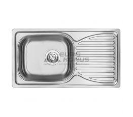 DEANTE Мойка врезная для кухни Doppio Satin ZEN 0113 оборотная матовая