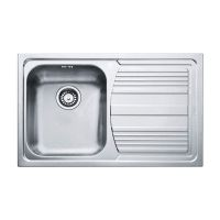 FRANKE Мойка врезная для кухни LOGICA LINE LLL 611-79 правое крыло декор (101.0381.810)