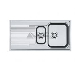 FRANKE Мойка врезная для кухни Smart SRX 651 оборотная полированная (101.0368.322)