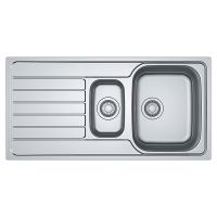 FRANKE Мойка врезная для кухни Spark SKX 651 оборотная полированная (101.0510.070)