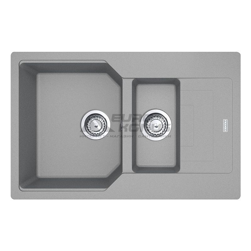 FRANKE Мойка врезная для кухни Urban UBG 651-78 оборотная серый камень (114.0574.992)