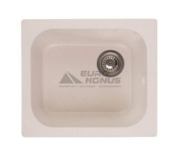 GRANITIKA Мойка врезная для кухни Cube крем (C494420-206)