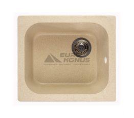 GRANITIKA Мойка врезная для кухни Cube песок (C494420-85)