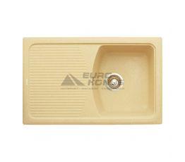GRANITIKA Мойка врезная для кухни Cube Long песок (CL785020-85)