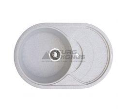 GRANITIKA Мойка врезная для кухни Oval лен (O785020-210)