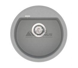 VANKOR Мойка врезная для кухни Easy без крыла gray (EMR 01.45)