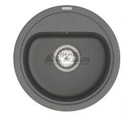 VANKOR Мойка врезная для кухни Lira без крыла gray (LMR 01.44)
