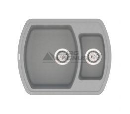 VANKOR Мойка врезная для кухни Norton без крыла gray (NMP 03.63)