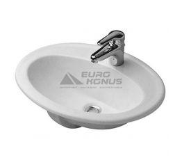 DURAVIT Умывальник врезной для ванной комнаты DuraPlus (0472560000)