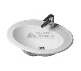 DURAVIT Умывальник врезной для ванной комнаты DuraPlus (0472620000)