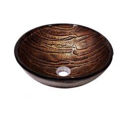 KRAUS Умывальник накладной для ванной комнаты Gaia GV-398-19 мм