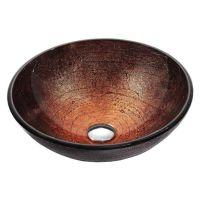 KRAUS Умывальник накладной для ванной комнаты Copper Illusion GV-580-12 мм