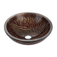 KRAUS Умывальник накладной для ванной комнаты Copper Forest GV-610-19 мм