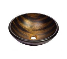 KRAUS Умывальник накладной для ванной комнаты Bastet GV-695-19 мм