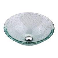 KRAUS Умывальник накладной для ванной комнаты Broken Glass GV-950-12 мм