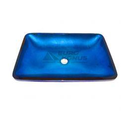 KRAUS Умывальник накладной для ванной комнаты Irruption Blue GVR-204-RE-15 мм