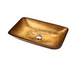 KRAUS Умывальник накладной для ванной комнаты Golden Pearl GVR-210-RE-15 мм