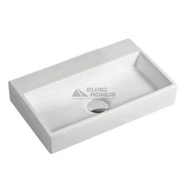 VOLLE Умывальник накладной для ванной комнаты (13-01-11)