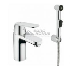 GROHE Смеситель для умывальника однорычажный с гигиеническим душем Eurosmart Cosmopolitan (23125000)