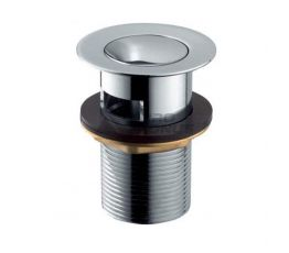 ARMATURA Клапан сливной металлический (малый) клик-клак ф62 (660-354-00)