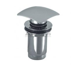 ARMATURA Клапан сливной металлический (квадрат) клик-клак ф68 (660-454-00)