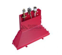 HANSGROHE Встроенный механизм смесителя однорычажного на борт ванны (13437180)