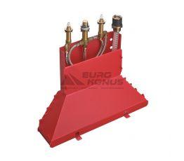 HANSGROHE Встроенный механизм смесителя двухвентильного на борт ванны (13444180)