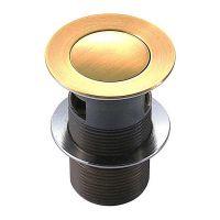 IMPRESE Клапан сливной для раковин pop-up (PP280zlato)