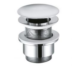 KLUDI Клапан сливной для раковин и биде push-open Plus (1042805-00)