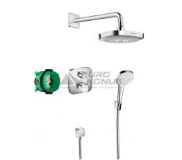 HANSGROHE Душевая система термостатическая встроенная Croma Select E (27294000)